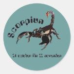 Scorpiun 24 october fin 22 pegatinas November