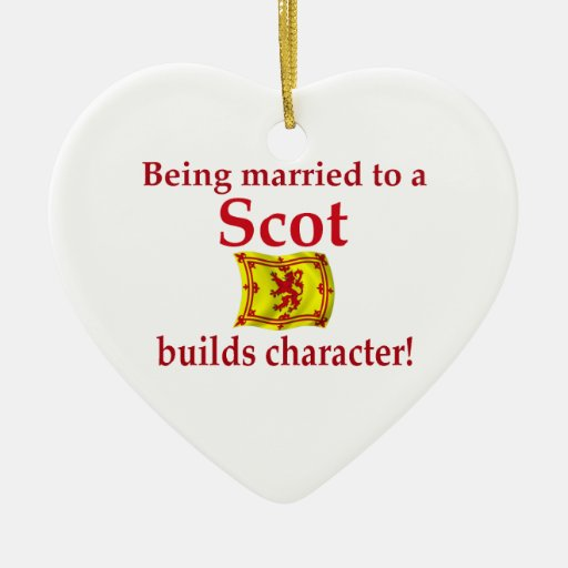 Scot Builds Character Christmas Ornament