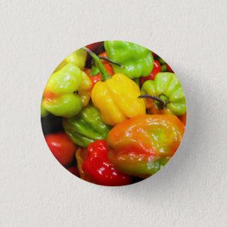 Scotch Bonnet Chilli Peppers Button