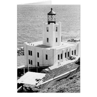 Scotch Cap Lighthouse Card