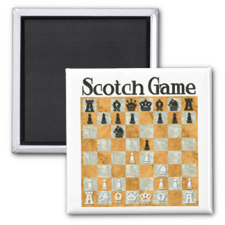 Scotch Game Magnet