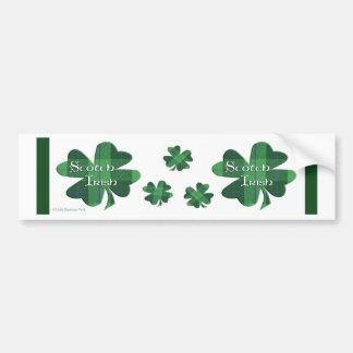 Scotch Irish Bumper Sticker