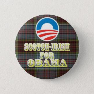 Scotch-Irish for Obama Button