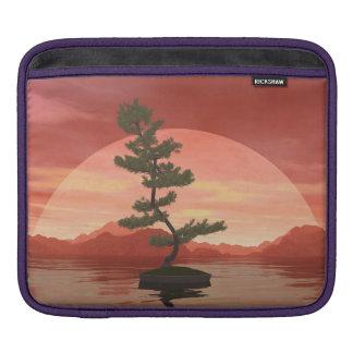 Scotch pine bonsai tree - 3D render iPad Sleeve