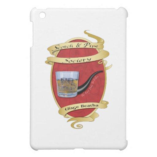 Scotch & Pipe Society iPad Mini Case