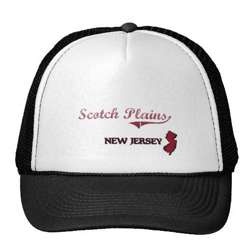 Scotch Plains New Jersey City Classic Mesh Hat