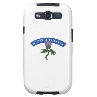 Scotch Thistle Galaxy SIII Cases