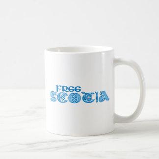 Scotia libre taza básica blanca