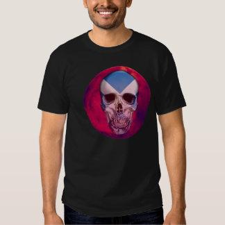 Scotish Skull Imprint Shirts