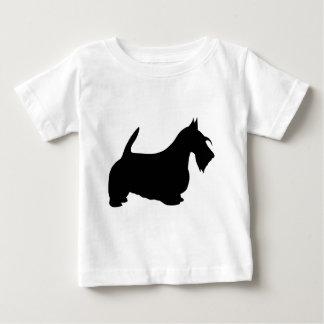 Scotish Terrier Silhouette Tee Shirts