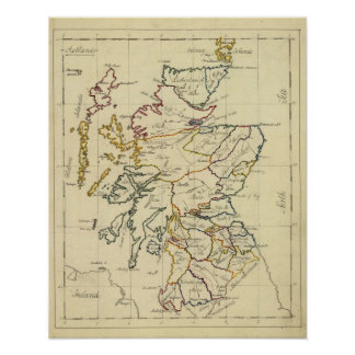 Scotland 10 poster
