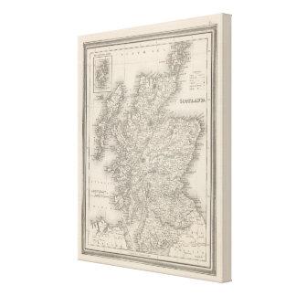 Scotland 12 canvas print