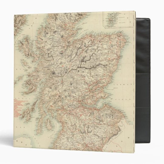 Scotland 13 3 ring binder