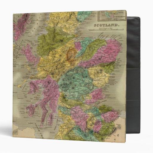 Scotland 15 3 ring binder