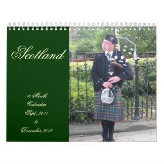 Scotland 16 Month Calendar