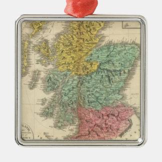 Scotland 18 metal ornament