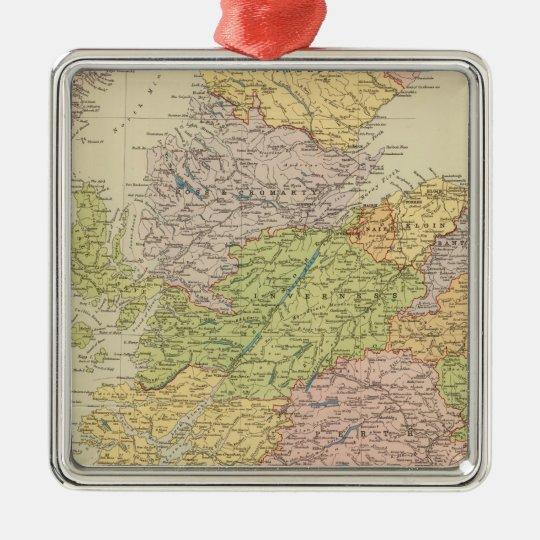 Scotland 19 metal ornament