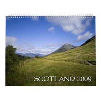 Scotland 2009 Calendar