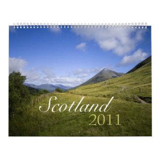 Scotland 2011 Calendar