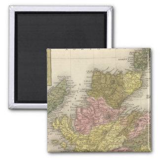 Scotland 2 2 inch square magnet