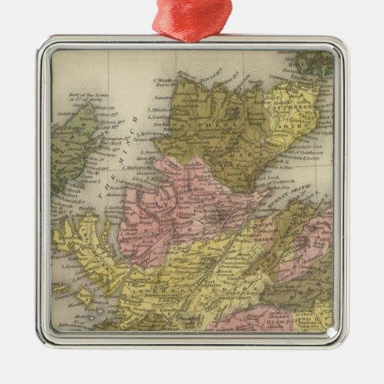 Scotland 2 metal ornament
