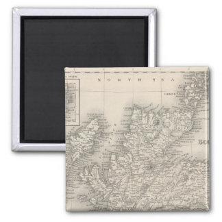 Scotland 4 2 inch square magnet