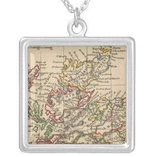 Scotland 7 square pendant necklace