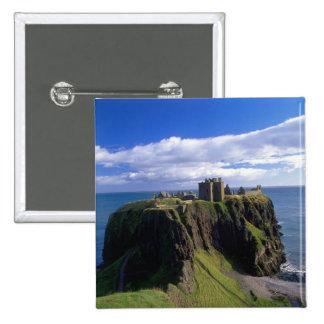 Scotland, Aberdeen. Dunnotar Castle. Button