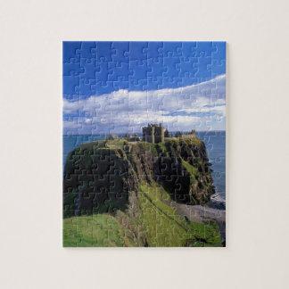 Scotland, Aberdeen. Dunnotar Castle. Jigsaw Puzzle