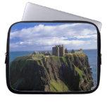 Scotland, Aberdeen. Dunnotar Castle. Laptop Sleeve