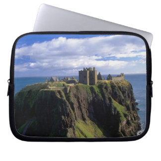 Scotland, Aberdeen. Dunnotar Castle. Laptop Sleeve