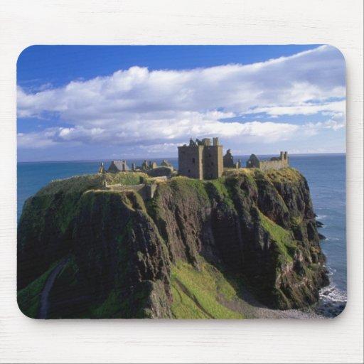 Scotland, Aberdeen. Dunnotar Castle. Mousepads