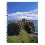 Scotland, Aberdeen. Dunnotar Castle. Spiral Note Books