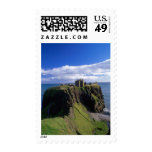 Scotland, Aberdeen. Dunnotar Castle. Postage