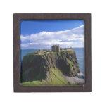Scotland, Aberdeen. Dunnotar Castle. Premium Keepsake Box