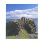 Scotland, Aberdeen. Dunnotar Castle. Scratch Pads
