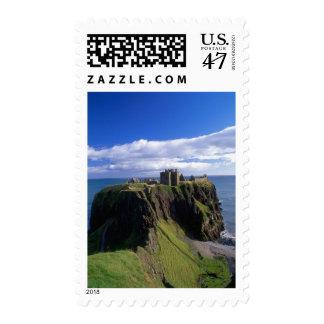 Scotland, Aberdeen. Dunnotar Castle. Stamp