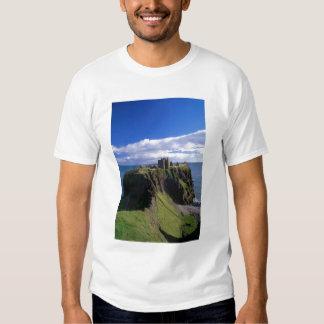 Scotland, Aberdeen. Dunnotar Castle. Tees