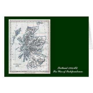 Scotland AD 1285 Greeting Card