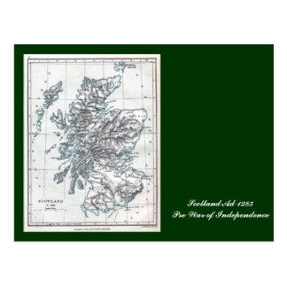Scotland AD 1285 Postcard