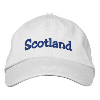 Scotland Adjustable Hat Embroidered Baseball Cap