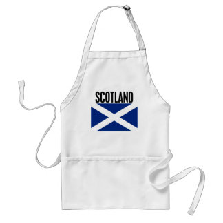 Scotland Adult Apron