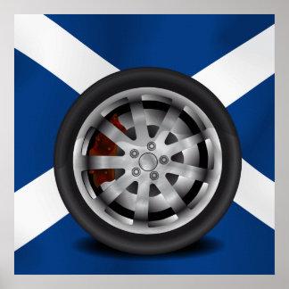 Scotland, Alloy Poster