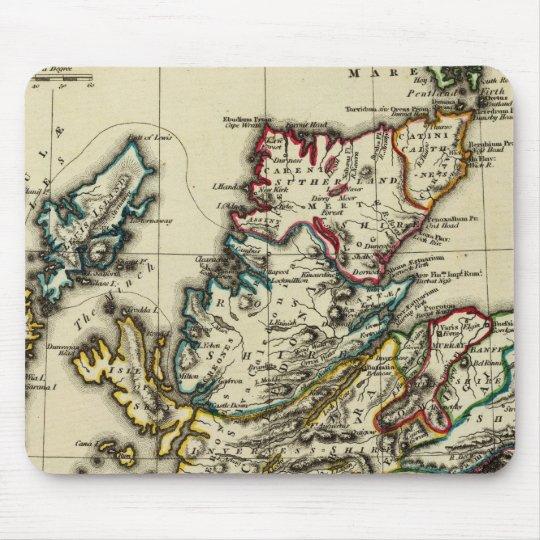 Scotland ancient, modern mouse pad