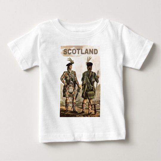 Scotland Art Baby T-Shirt