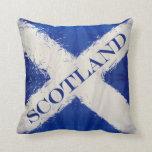 Scotland art flag pillows