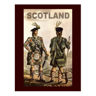Scotland Art Postcard