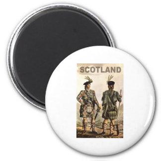 Scotland Art Refrigerator Magnet