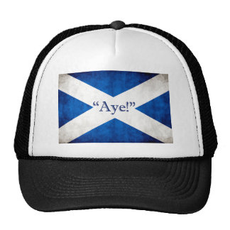 Scotland, AYE! Trucker Hat