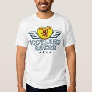Scotland B Rocks v2 T Shirts